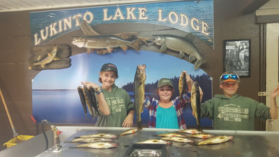 Lukinto Lake Lodge 2017 Memories